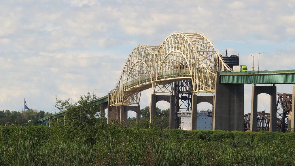 Brücke in die USA
