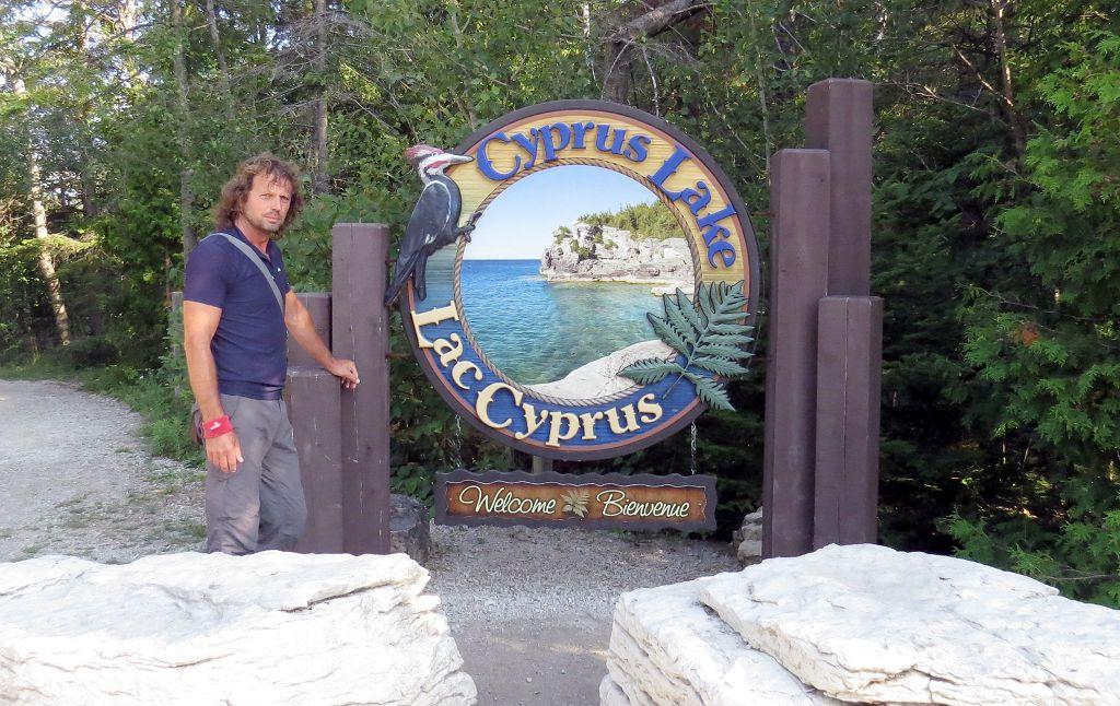 Wir wandern auf dem Bruce Trail