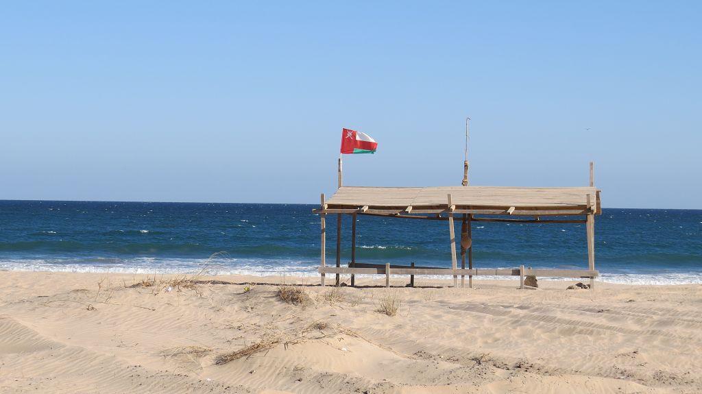 ...das Arabische Meer bei Ras al Jinz
