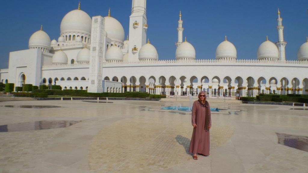 Große Scheich Zayed Moschee...