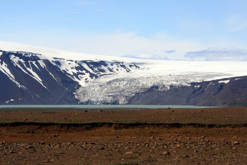 """Die Gletscherzunge """"Nordurjökull"""""""