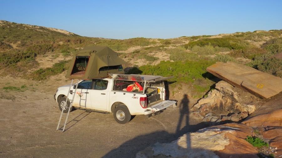 Campingplatz bei Paternoster