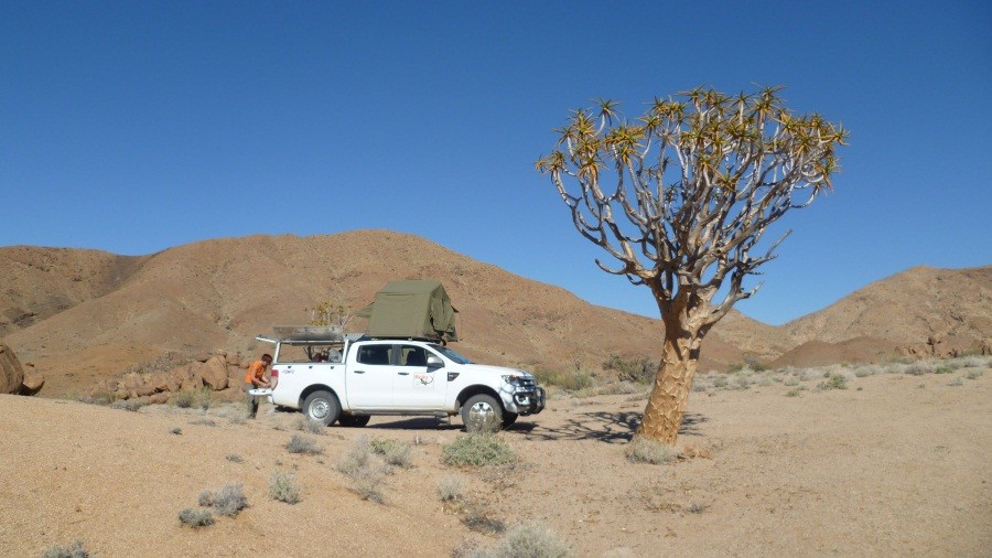 Richtersveld Nationalpark Kokerboomkloof