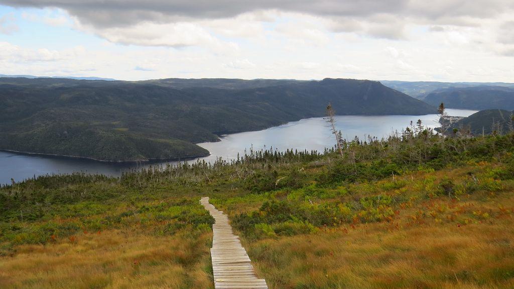 ...und dem Fjord.