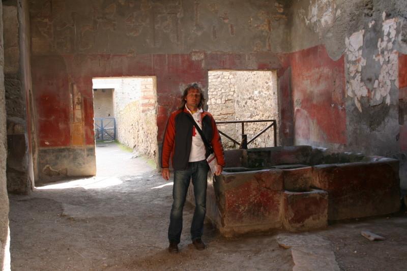 Pompei, Fullonica (Wollwäscherei)