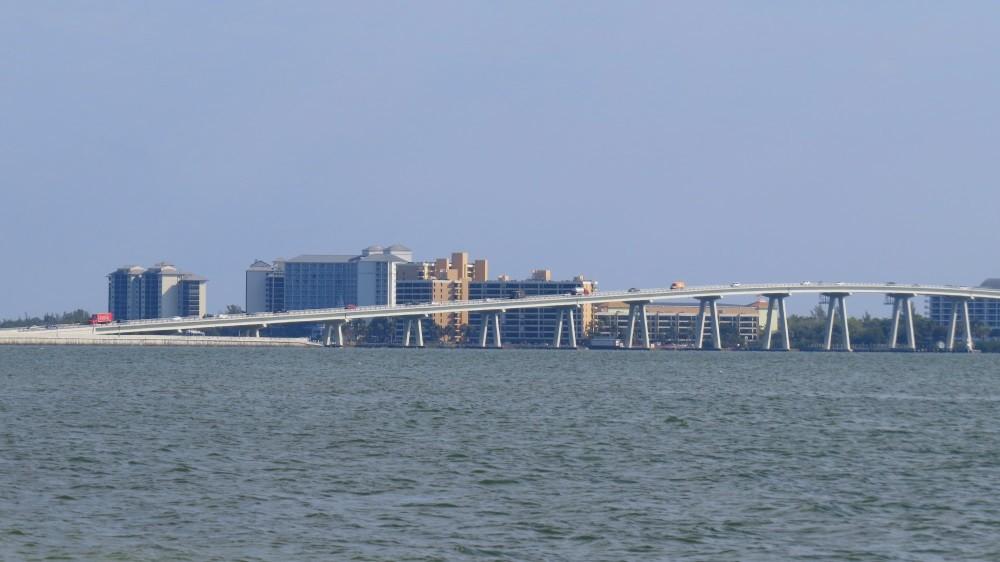 Über die Brücke geht es zurück nach Ft. Myers