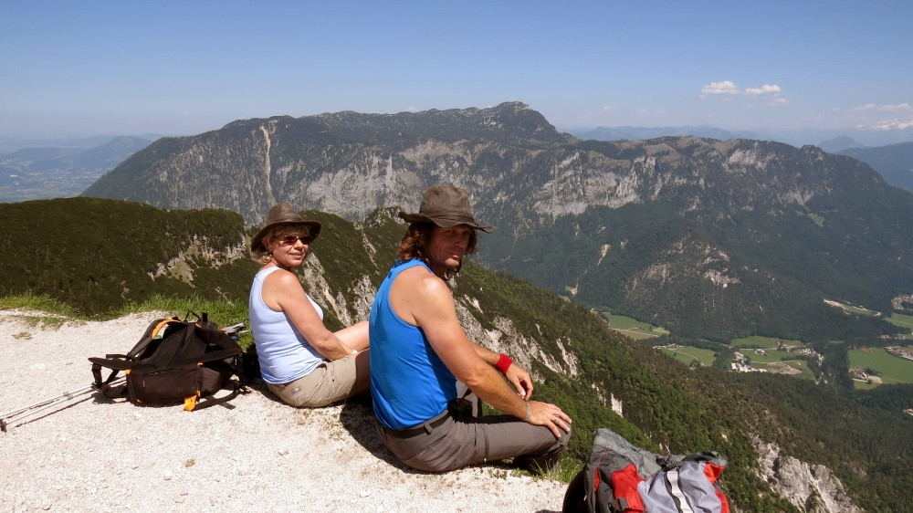 Erster Tag: 1050 m bergauf UND 1050 m bergab