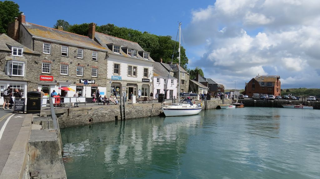 Spaziergang durch Padstow