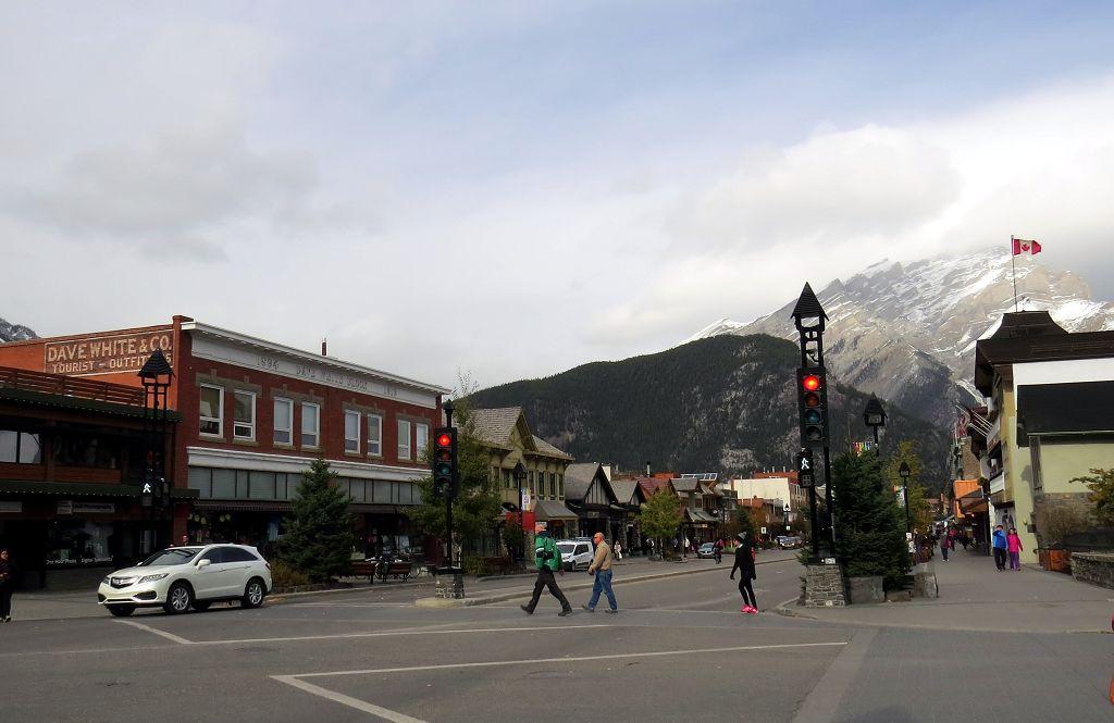 Spaziergang durch Banff