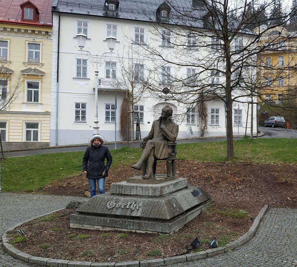 Goetheplatz in Marienbad