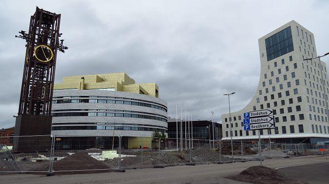 Wir besuchen Kiruna, die Stadt des Eisenerzes