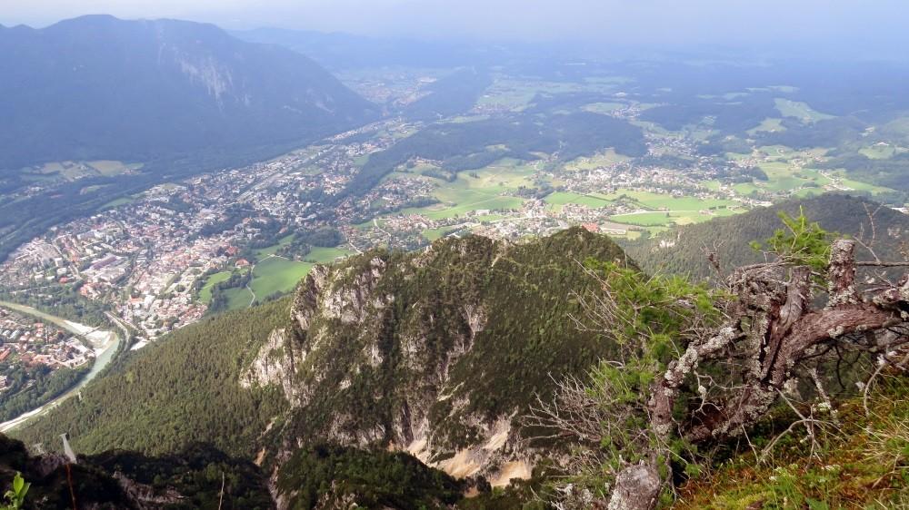 Blick auf Bad Reichenhall