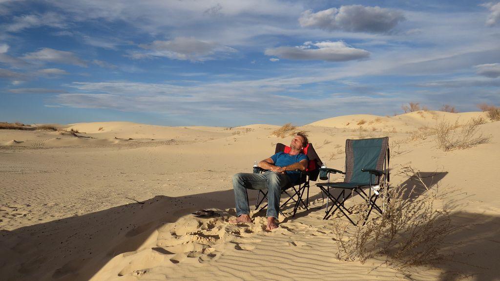 Übernachtungsplatz im Monahans Sandhills State Park