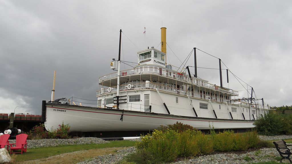 "Die ""Klondike"" in Whitehorse"
