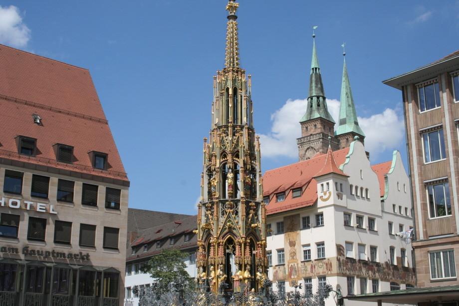 In Nürnberg unterwegs