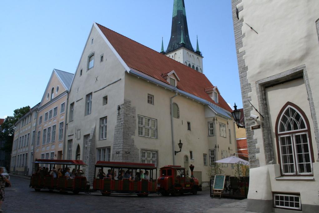 Tallinn, auf zum Turm der Olaikirche