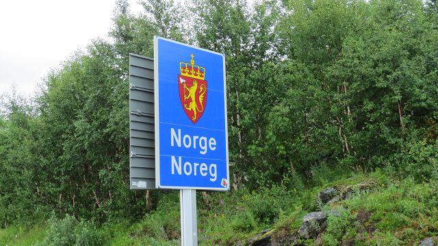 Wir erreichen Norwegen