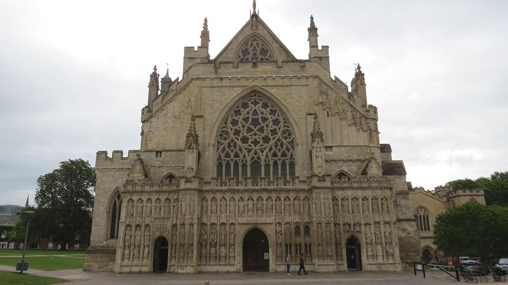 Kathedrale in Exeter