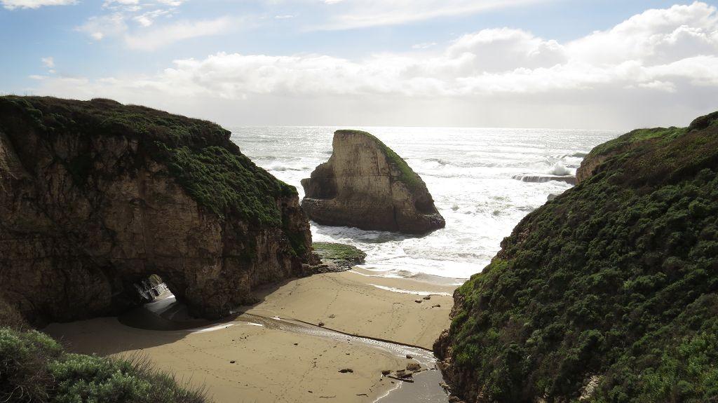 Pazifikküste kurz vor Half Moon Bay