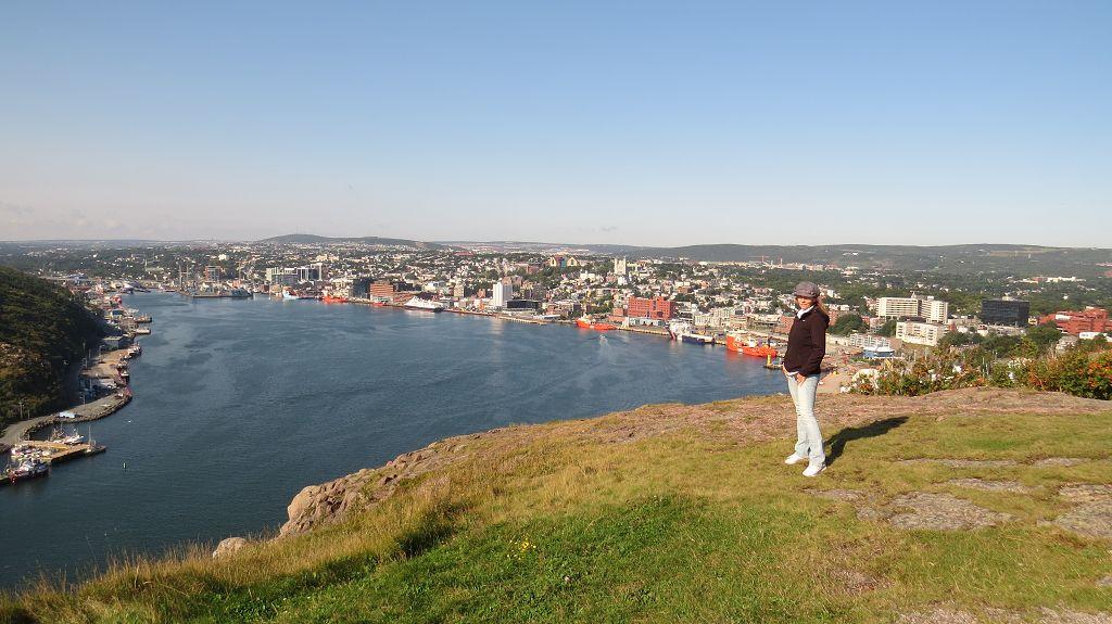 Blick von Signal Hill auf St. John's