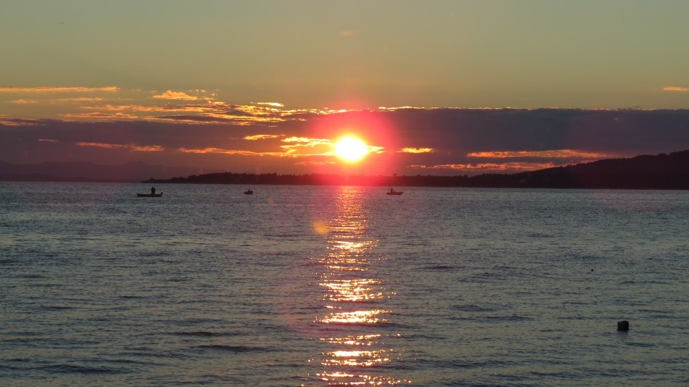 Sonnenuntergang an der Makarska-Riviera