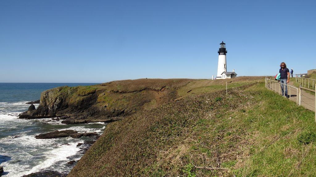 Yaquina Lighthouse...