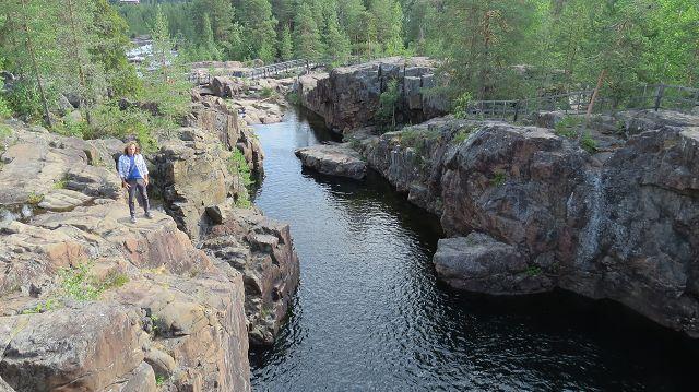 Canyon am Storforsen