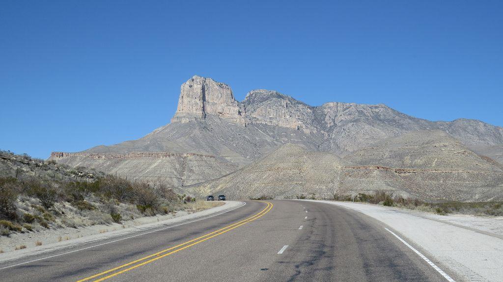 Wir erreichen den Guadalupe Nationalpark