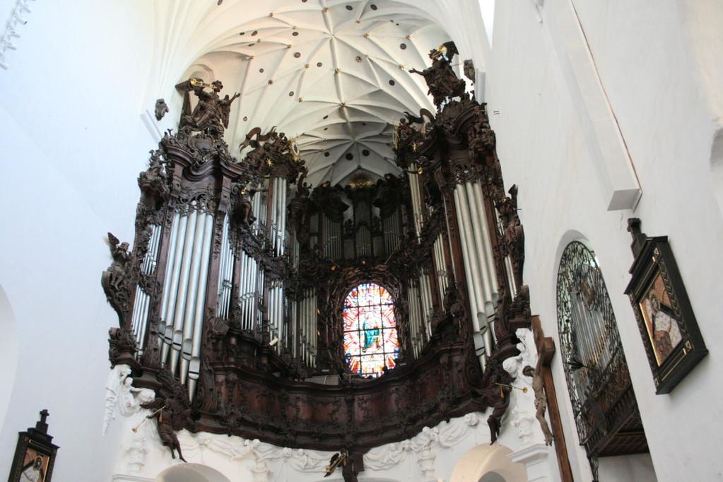 Die berühmte Rokoko-Orgel