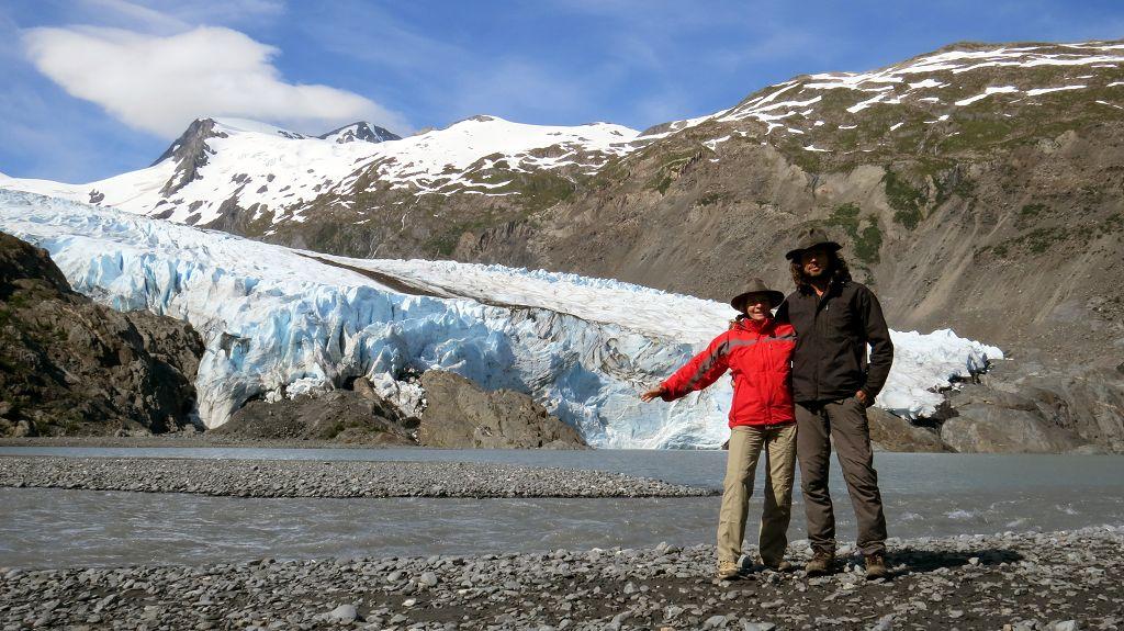 ...zum Portage Glacier.