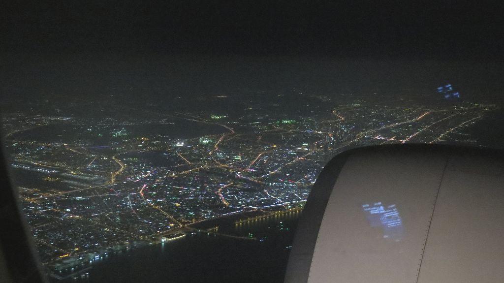 Anflug auf Dubai