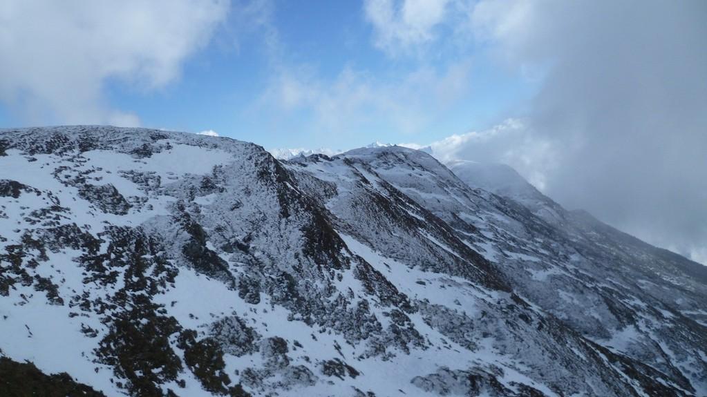 Wir wandern zum Kreuzjoch auf 2336 m