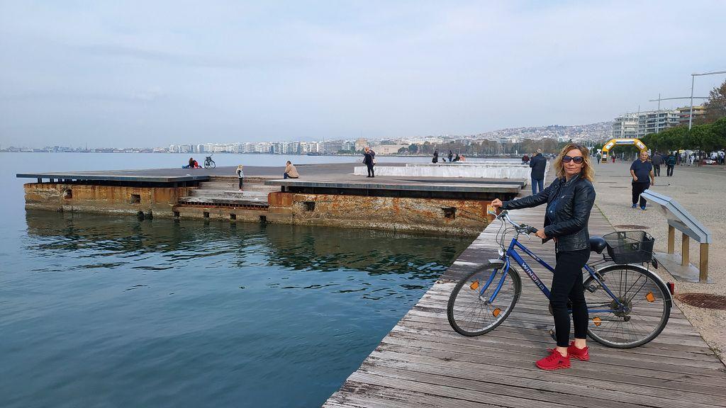 Mit dem Fahrrad in die Stadt