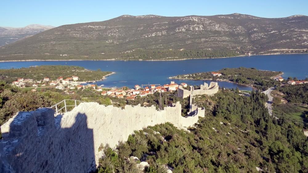 Befestigungsanlage bei Ston auf Peljesac