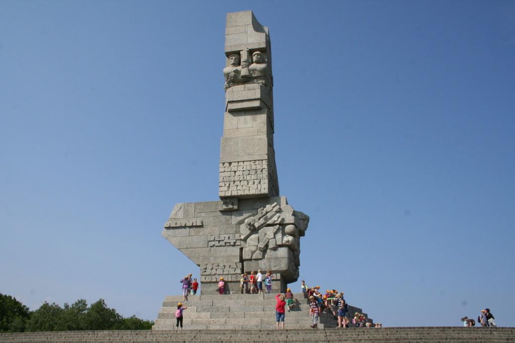 Zu Ehren der Verteidiger der Westerplatte