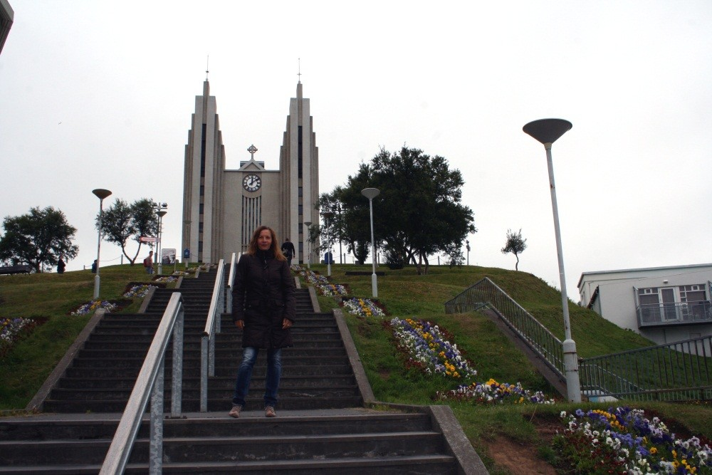 Unterwegs in Akureyri