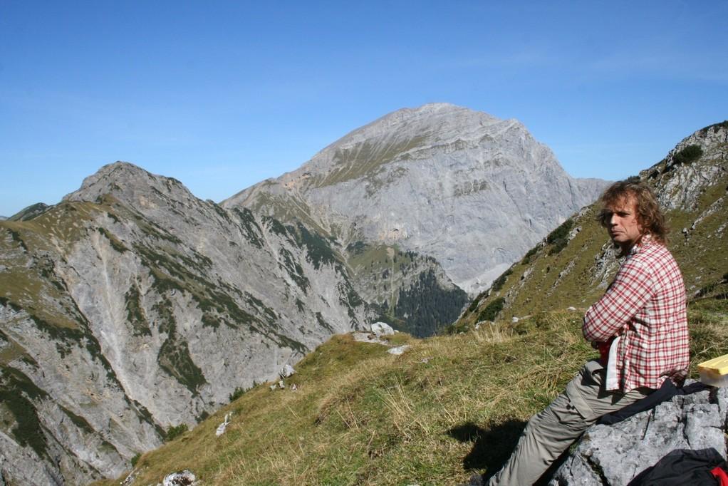 Weg zur Lamsenjochhütte