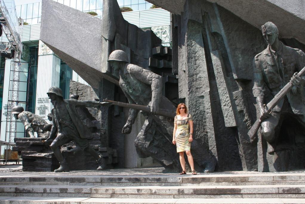 Denkmal der Helden des Warschauer Aufstandes