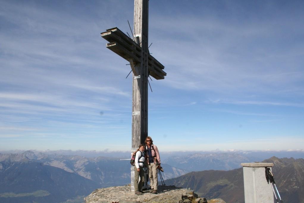 Gipfelkreuz am Gilfert