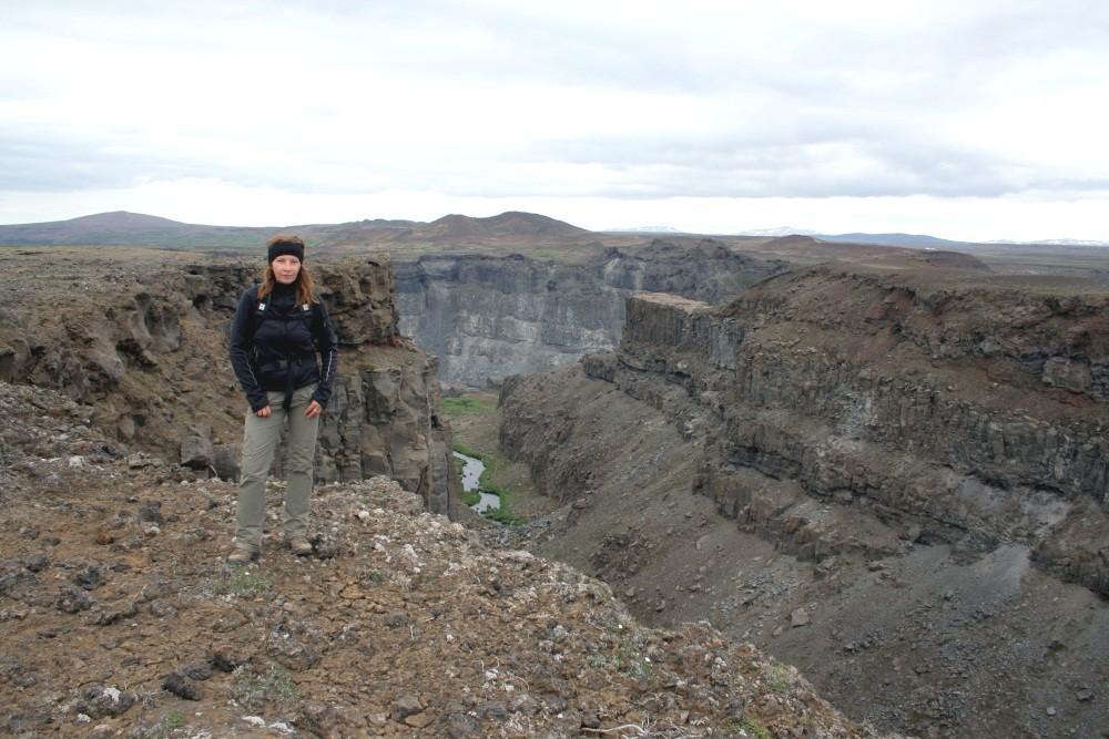 Die nächste Wanderung bringt uns zurück zu den großen Wasserfällen