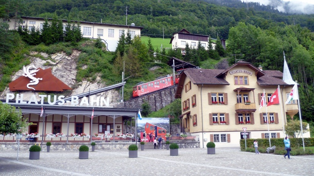 Pilatus Talstation in Alpnachstad