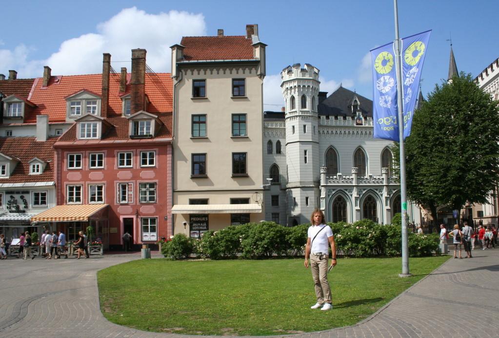 Riga, die Hauptstadt Lettlands.