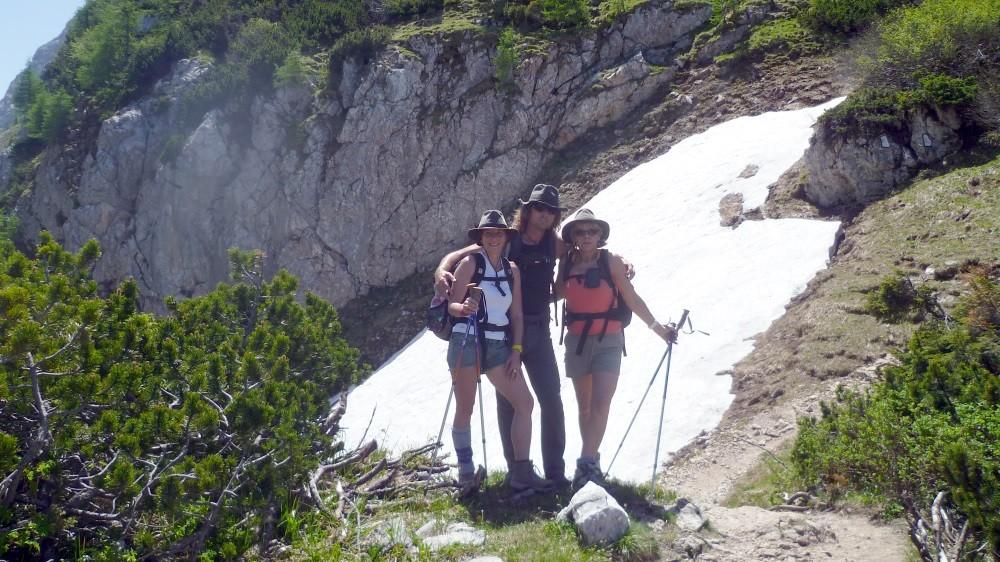 2. Tag: Auf dem Weg zum Schneibstein