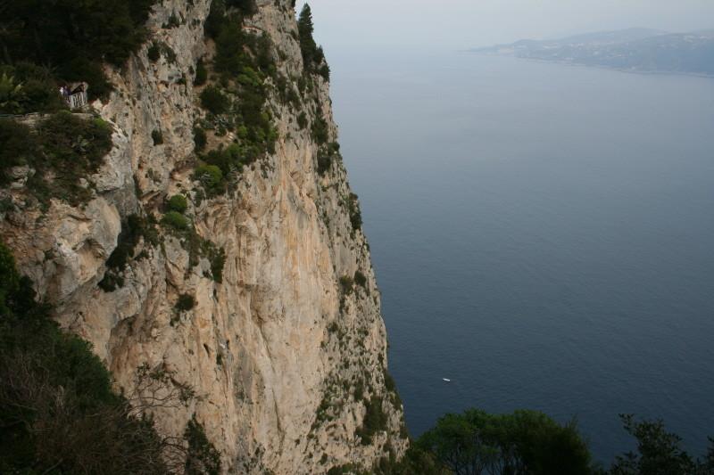Capri's Steilküste
