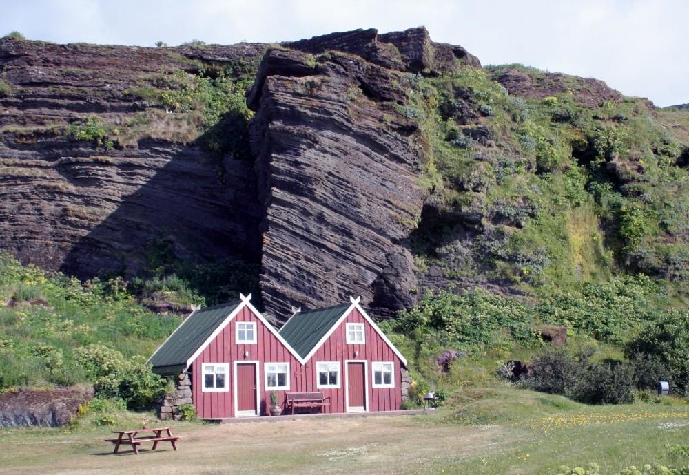 Unser Campingplatz in Vik i Myrdal