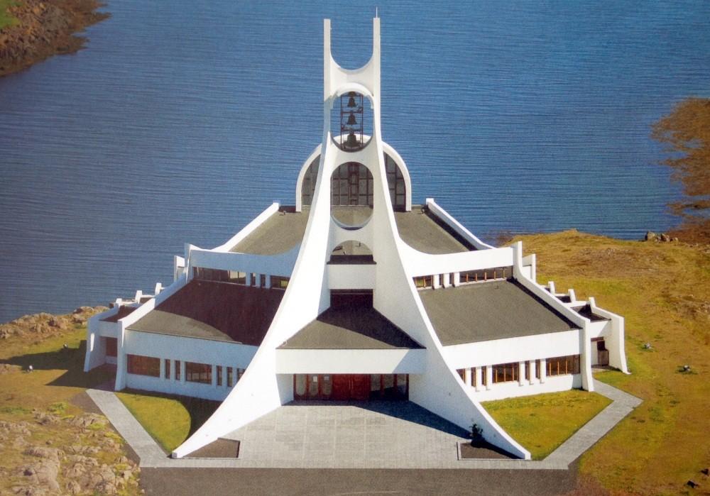 ...die Kirche von Stykkisholmur