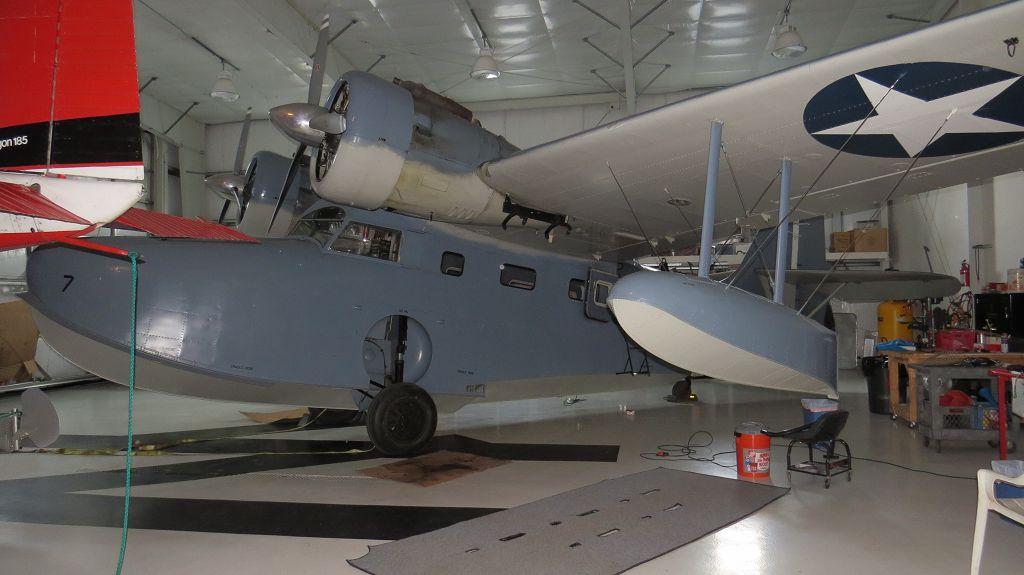 """Die """"Goose"""", eine historische Maschine"""