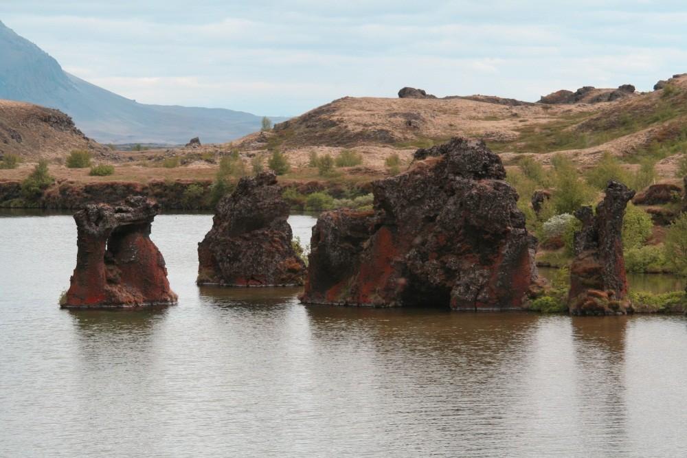 Lavaformationen Höfdi und Kalfaströnd