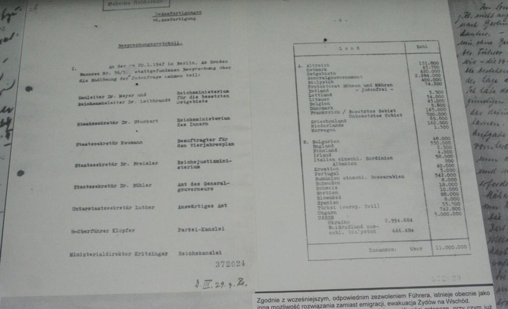 Original-Protokoll der Nazis