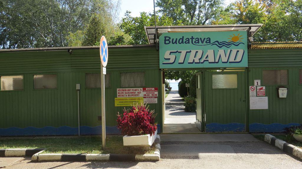 Strandbad in Balatonmädi